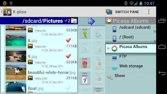 X-plore File Manager- screenshot thumbnail