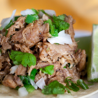 Cuban Pulled Pork Tacos.