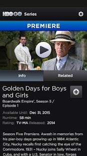 HBO GO - screenshot thumbnail