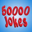 50,000 Jokes logo