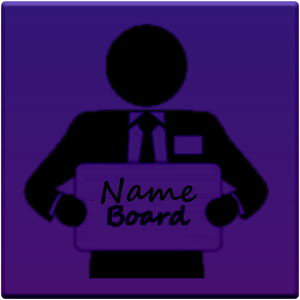 Name Board - Chauffeurs Taxis