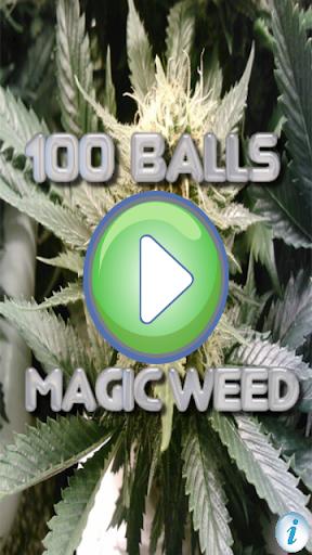 100 Balls Magic Weed Marijuana