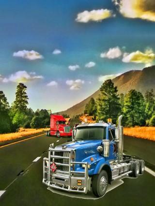 Highway Truck Game