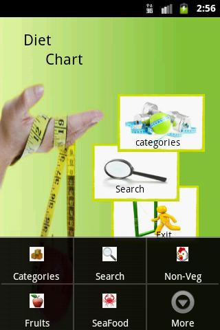 DietChart-Tanmay - screenshot