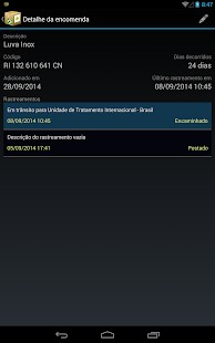 RaBox - Rastrear Correios - screenshot thumbnail