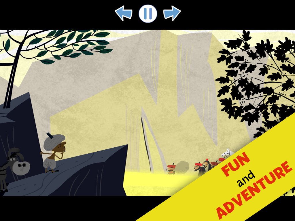 Ali Baba and The 40 Thieves- screenshot