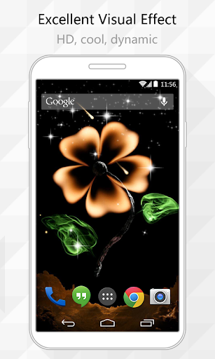 Mars Flower Live Wallpaper