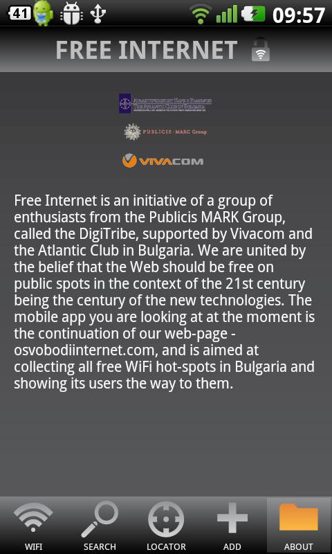 Free Internet - screenshot
