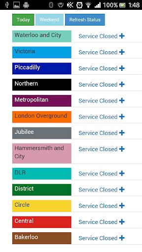 London Tube Status