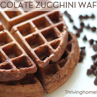 Sneaky Chocolate Waffles.
