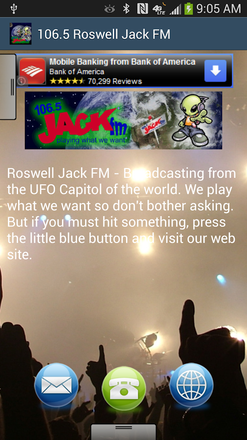 106.5 Roswell Jack FM - screenshot