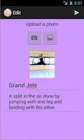 Screenshot of Ballet Wiki
