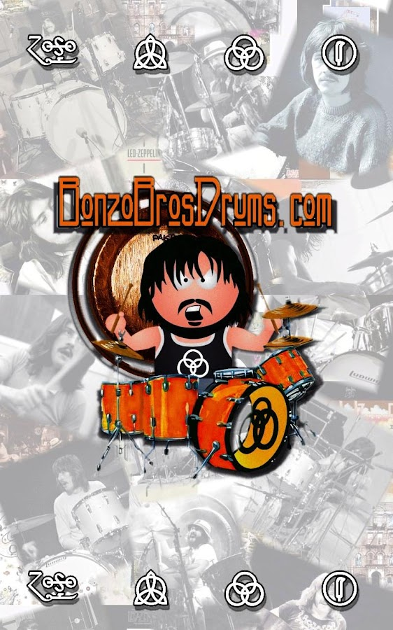 Bonzo Bros. Drums.com - screenshot