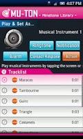 Screenshot of Musical Instrument Library1