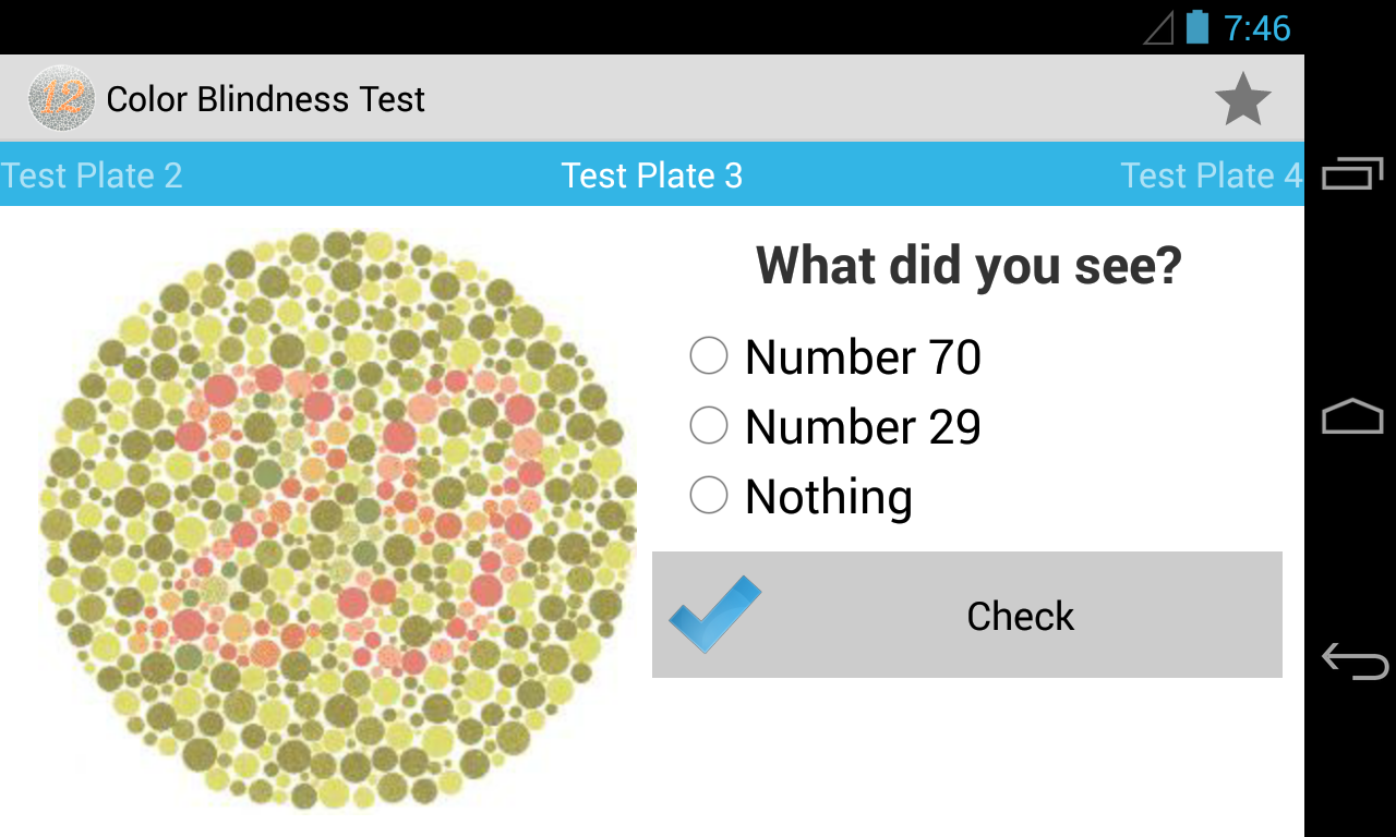 Book for color blindness - Screenshots