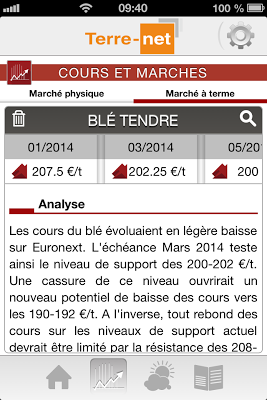 Terre-net - Agriculture - screenshot