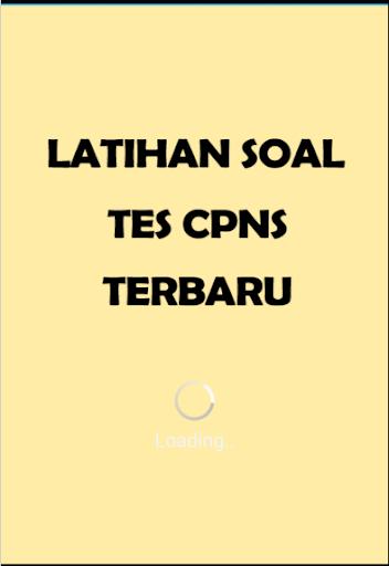 Latihan Soal Tes CPNS Terbaru