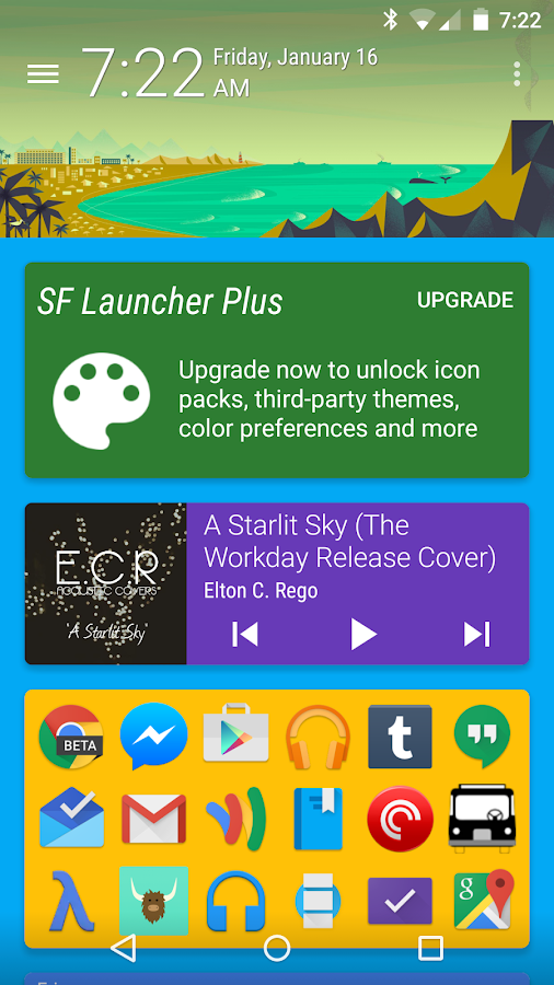 SF Launcher Plus Key- screenshot