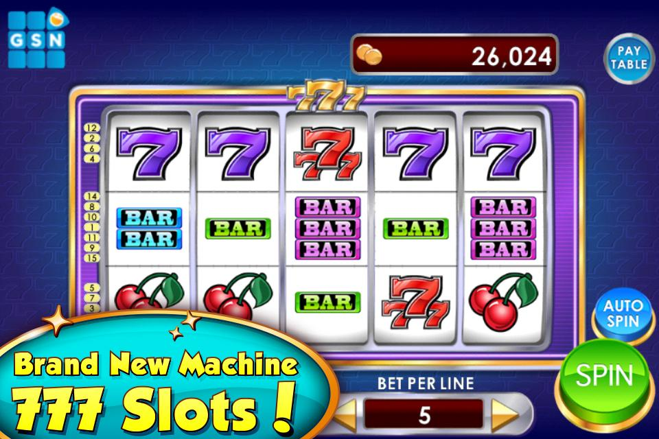 Gsn casino free slots & bingo