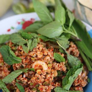 Thai Larb Recipe (larb Moo ลาบหมู).