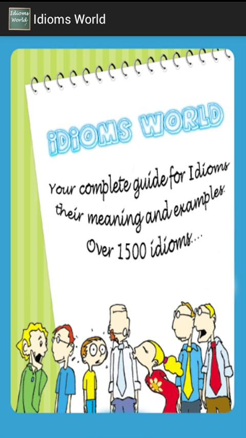 English Idioms World - screenshot