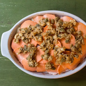 Scalloped Sweet Potatoes and Apples #FallFest