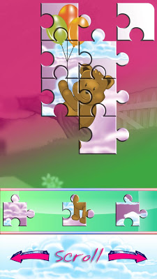 Teddy Bear-Kids Jigsaw Puzzles - screenshot