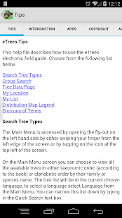 eTrees of Southern Africa Lite- screenshot thumbnail