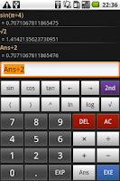 Screenshot of Mathdroid