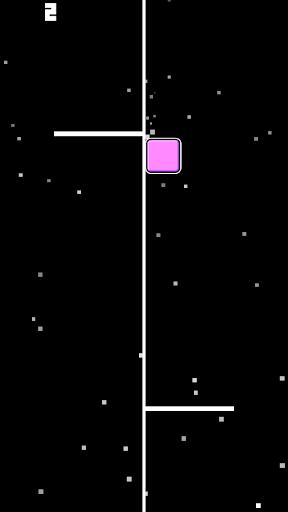 方塊衝刺:別碰白線挑戰極限的小遊戲