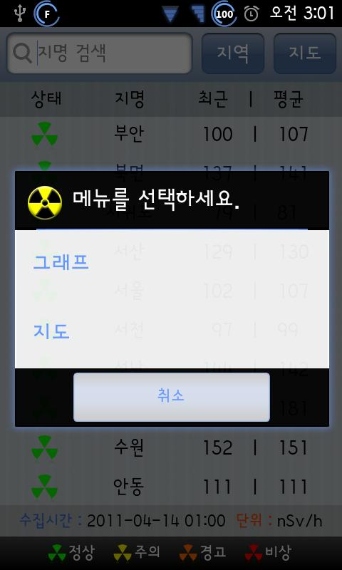 Korea Radiation- screenshot