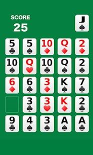 One poker = pokers olitaire- screenshot thumbnail