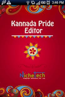 Kannada Pride Kannada Editor - náhled