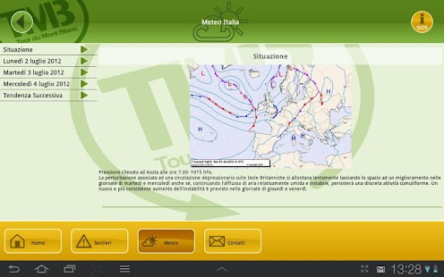 Autour Du Mont Blanc – миниизображение на екранната снимка