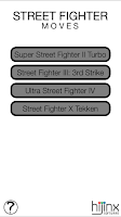 Screenshot of Street Fighter Moves