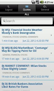 CME Group E-quotes- screenshot thumbnail
