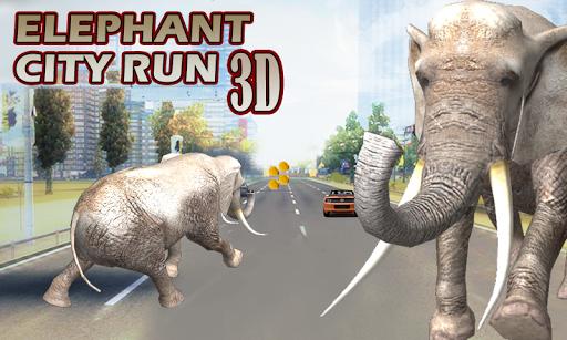 Elephant City Run 3D