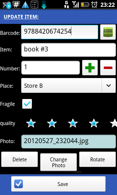 XSCANPET Inventory & Barcode - screenshot