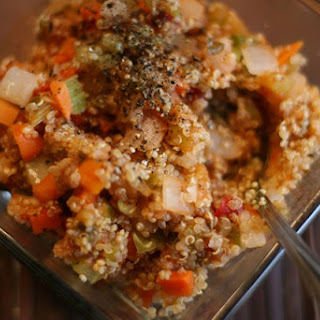 Sweet + Sour Pineapple & Vegetable Quinoa Recipe