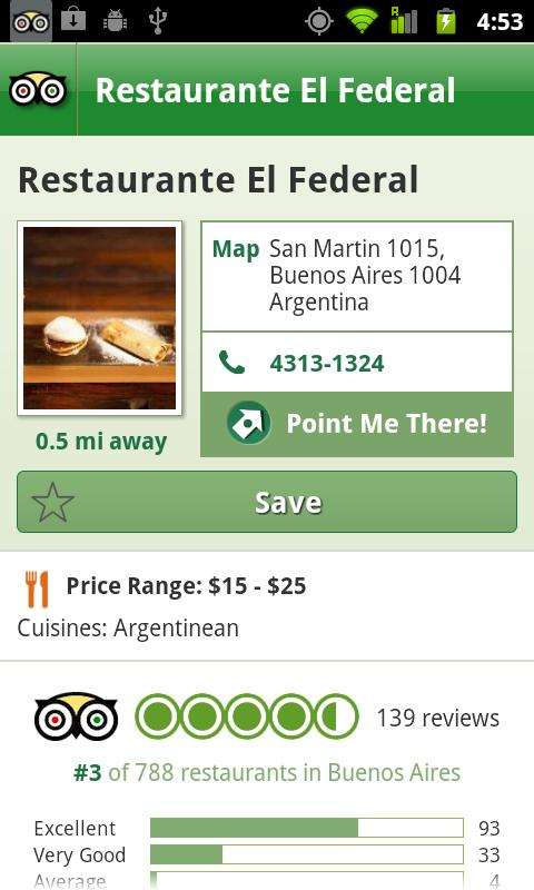Buenos Aires City Guide screenshot #4