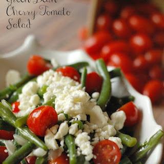 Green Bean Cherry Tomato Salad