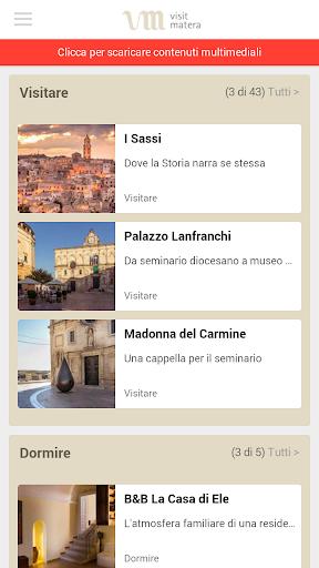 Visit Matera