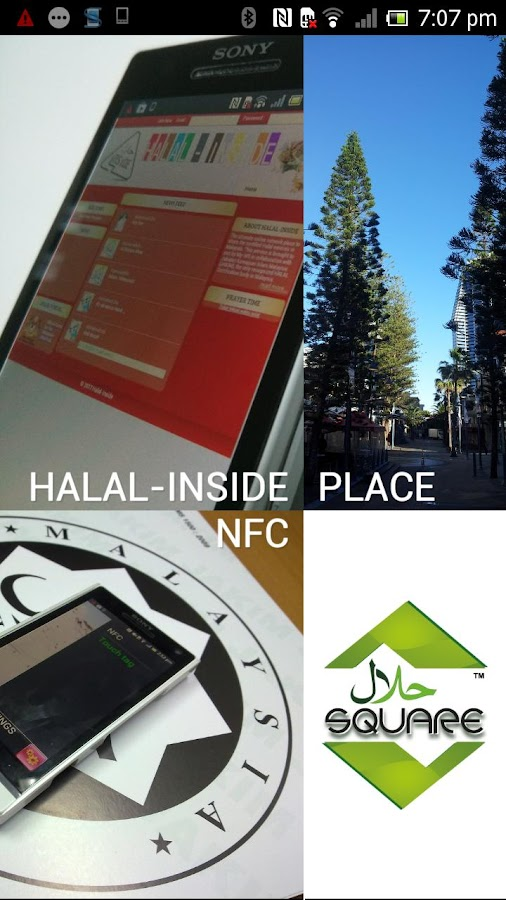 Halal-Square - screenshot