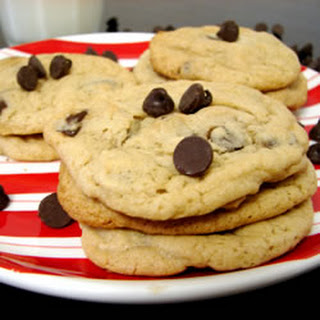 Light Chocolate Chip Cookies.