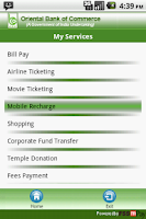 Screenshot of Oriental Bank of Commerce