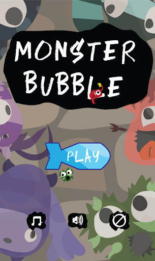 Monster Bubble Puzzle