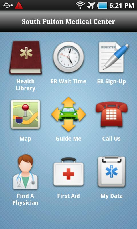 South Fulton Medical Center - screenshot