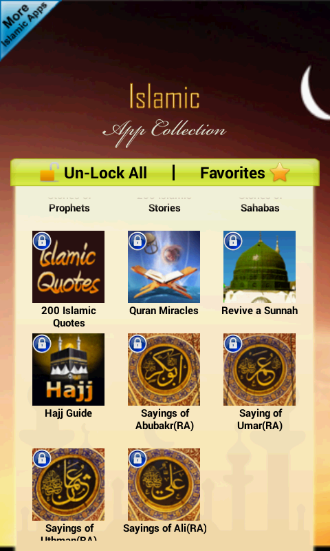 Islamic App Collection Free- screenshot