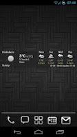 Screenshot of AHWeather Plain Light IconSet