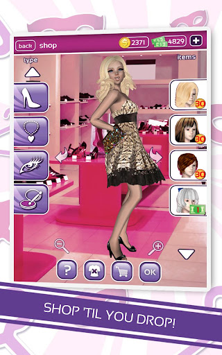 【免費休閒App】Me Girl Dress Up-APP點子